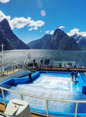 Sailing into Milford Sound is an unforgettable experience.