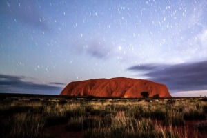 The great red beacon that is Uluru.