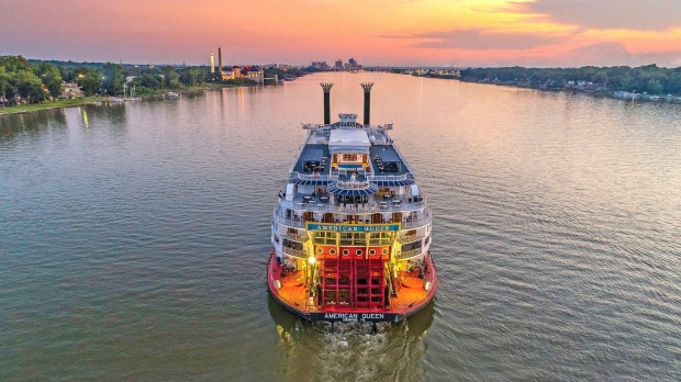 Cruise the mighty Mississippi.