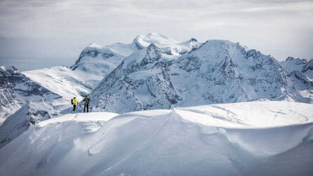 Away from the crowds: Ski touring in Verbier