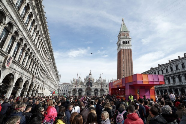 In mid-Februrary Venice was packed with tourists for Carnival, prior to the coronavirus hitting the city. The remained ...
