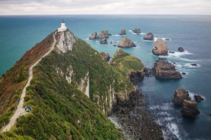Nugget Point, New Zealand.