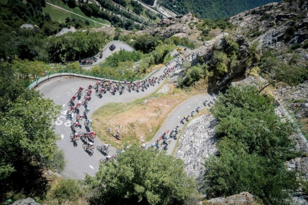 The Tour de France: The world's biggest annual road cycling event is arguably best watched on telly, but the mountain ...