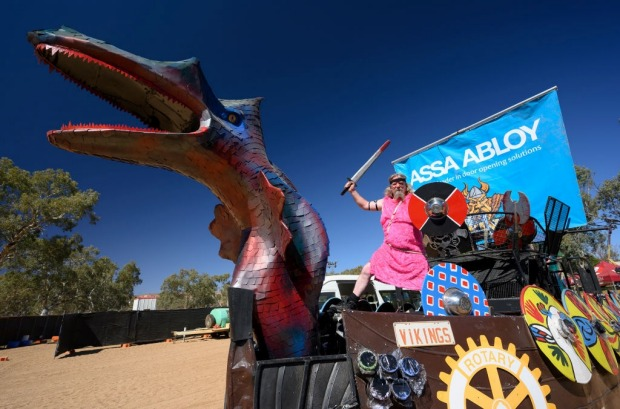 The Henley-on-Todd Regatta, Alice Springs, NT: Are the races of this improbable regatta the fastest or the most ...