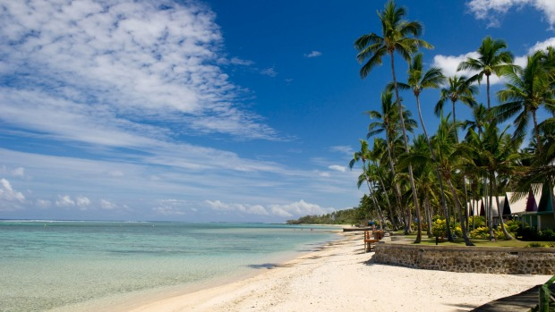 The resort lies on the pristine Coral Coast.