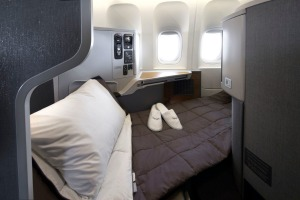 American Airlines 787-9 Business Class seats.
