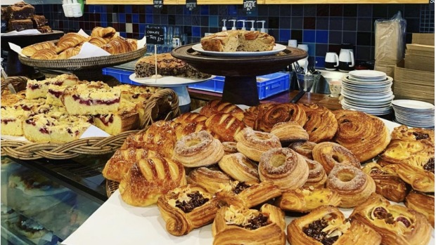 Pastries at Millers.