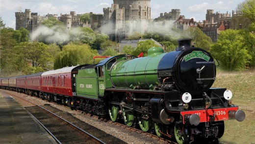 Royal Windsor Steam Express.