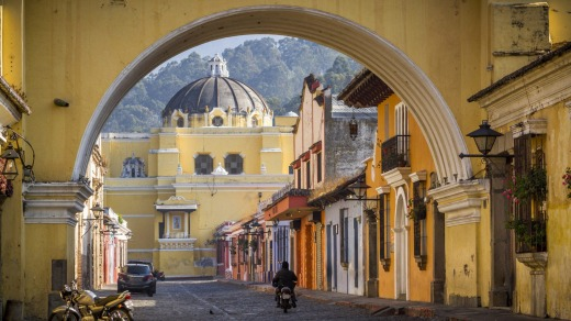 Downtown Antigua.