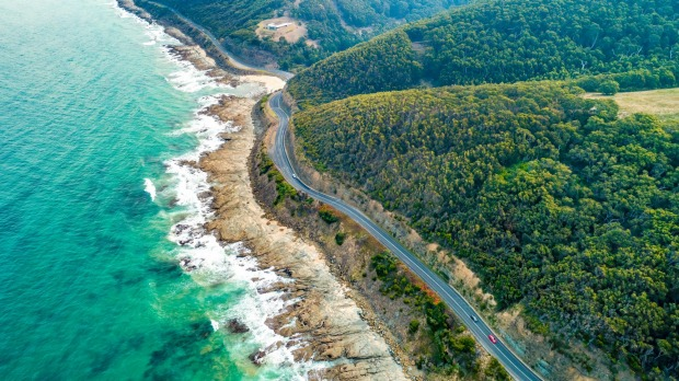 The Great Ocean Road, Victoria.