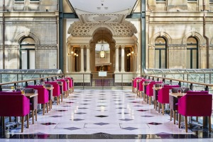 The hulking Italian Renaissance Palazzo-style building is now looking a treat, but the spectacular ornate atrium-like ...