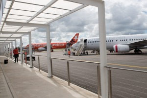 Newcastle Airport is NSW's second busiest airport.