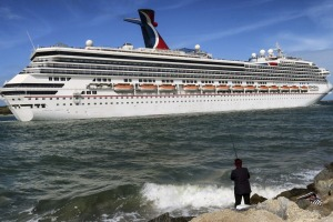 Carnival Liberty leaves Port Canaveral in Florida. Most major cruise lines have already suspended operations, but many ...
