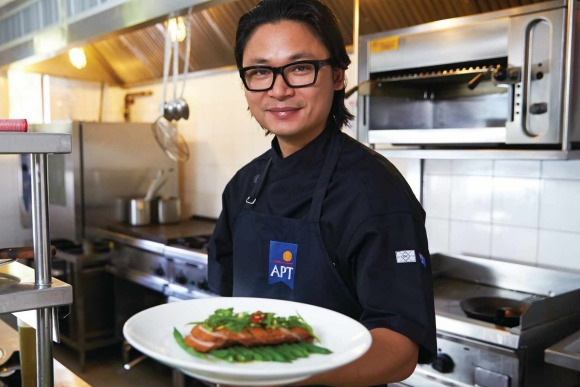 Chef Luke Nguyen.