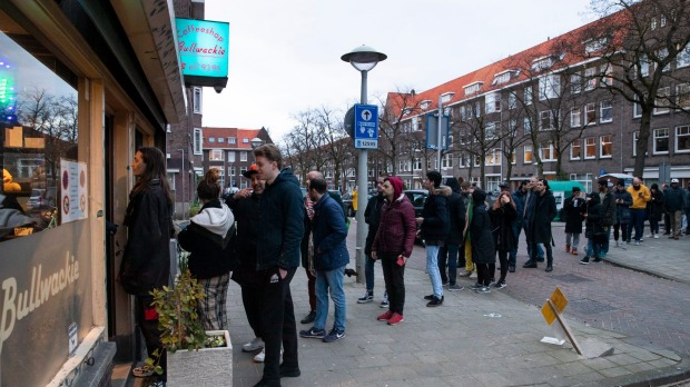 Forget toilet paper: Shoppers in the Netherlands are panic-buying weed