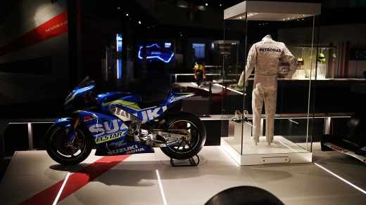 The museum tells the history of British motor racing.