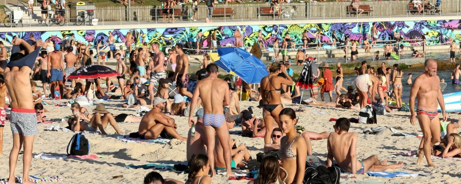 Images of Australians flocking to Bondi Beach despite the risk of coronavirus shocked people around the world.