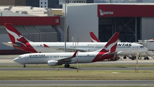 Most of Qantas' aircraft will be held at city airports for the time being.