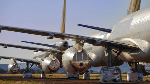Australia has its own boneyard/airpark, the Asia Pacific Aircraft Storage (APAS) facility located adjacent to Alice ...
