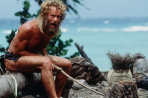 Long before spending time in isolation due to coronavirus, Tom Hanks was isolated on a desert island in Cast Away.