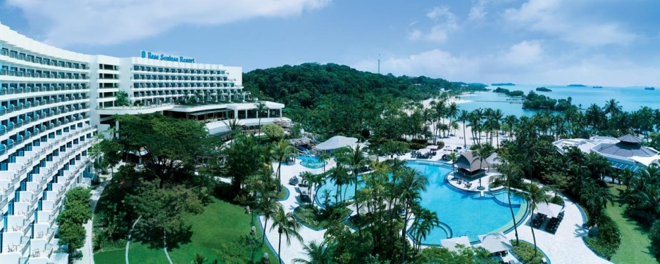 Shangri-La's Rasa Sentosa Resort and Spa.