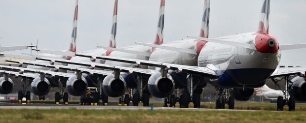 Thousands of flights around the world have been cancelled due to the COVID-19 outbreak.