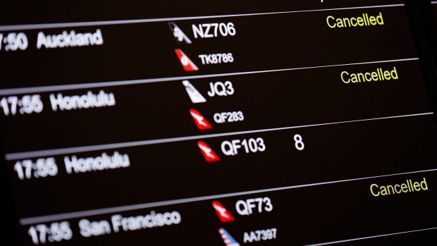 Many airlines have suspended or drastically reduced their flights due to the coronavirus outbreak.