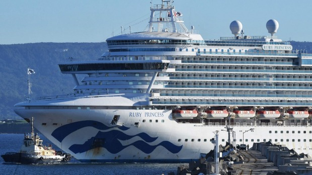 Carnival Corp is the parent company of Princess Cruises, owner of the Ruby Princess.