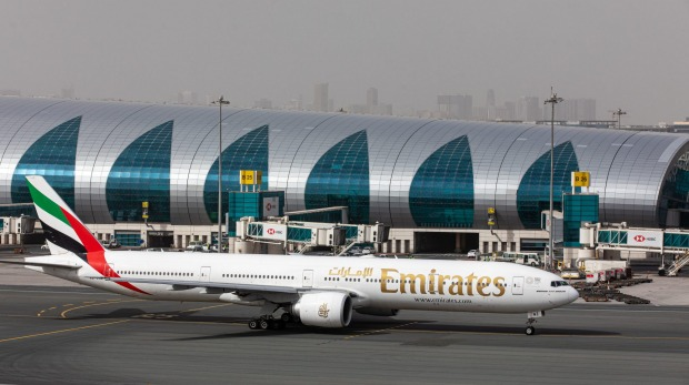 Emirates will fly Boeing 777s on its resuming international routes.