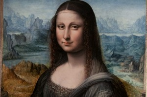 A second version of the Mona Lisa, painted by one of Leonardo Da Vinci's students at the time, was discovered in 2011.