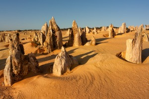 The Pinnacles of Nambung National Park in Western Australia. The further you get from Australia's major cities, the more ...