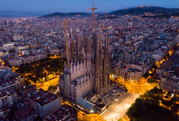 The Sagrada Familia, Barcelona, a classic  TBC project, is the one that millions of people have been to see anyway. ...