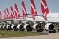 Qantas has grounded aircraft and laid off thousands of staff due to the travel restrictions imposed to prevent the ...