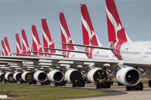 Travel restrictions due to COVID-19 have seen much of Qantas' fleet grounded ... and a new route become the airline's ...