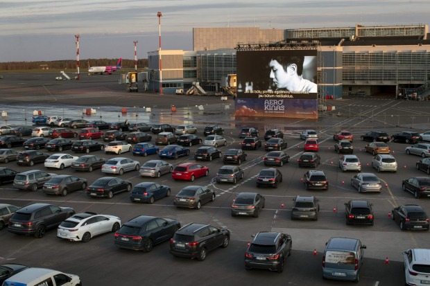 At the screening, people were told to stay in their cars at all times and to drive outside of the airport if a toilet ...