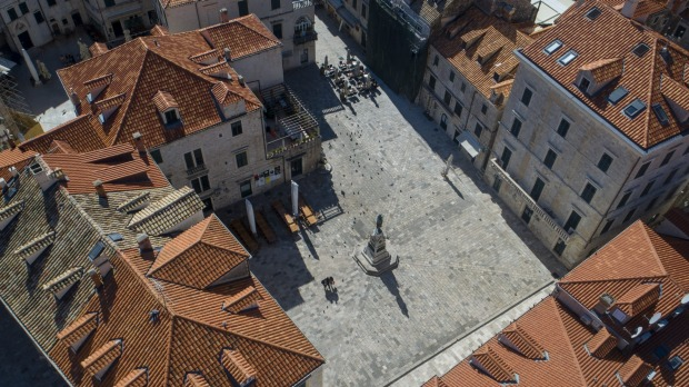 The medieval old town of Dubrovnik, Croatia. Croatian authorities have suggested they could allow tourists who can prove ...