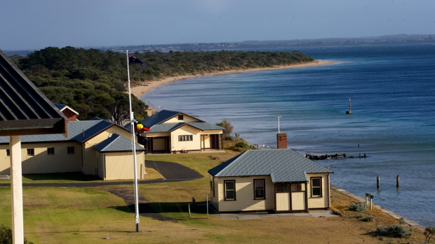 Victorian Government announces the successful proposal to develop the Point Nepean Quarantine Station into a Hotel and Spa complex and a marine education and research precinct. 18th July 2014. Photo by Jason South