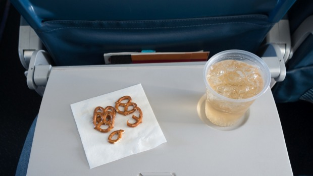 US plane passengers are missing airline snacks so much, they are getting them home delivered.