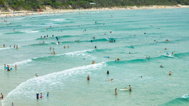 Byron Bay looks set to lead the domestic tourism drive in NSW.