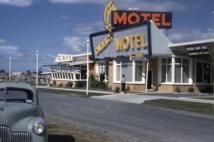 The Oakleigh Motel on the Princes Highway, Victoria.