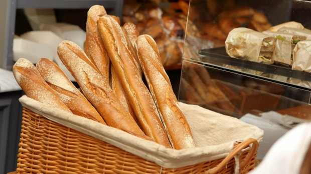 French bread: Just about the best thing on Earth.