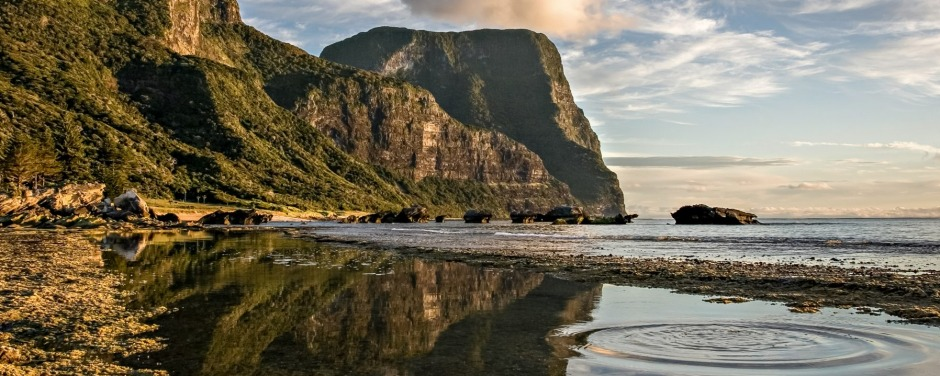Lord Howe Island. A two-hour flight away from Sydney, when you land on Lord Howe, you feel like you've arrived in ...
