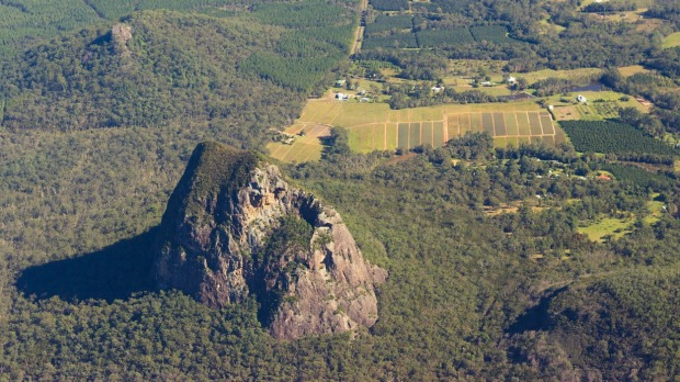 Mount Tibrogargan, one of the Glasshouse Mountains.