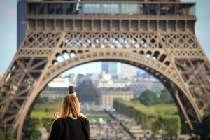 You'll have to book a timeslot to visit the Eiffel Tower and the Louvre in Paris.