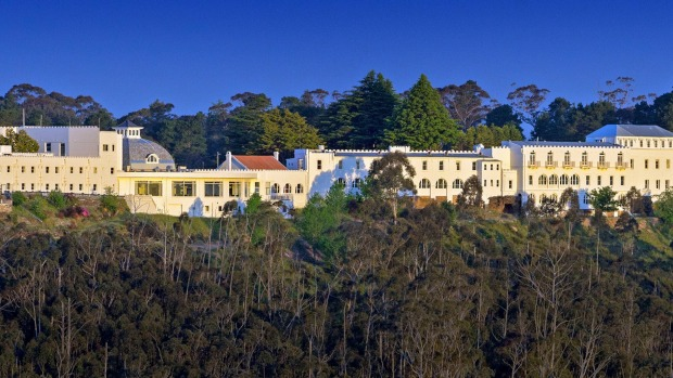 The Hydro Majestic Hotel in the World Heritage-listed Blue Mountains.