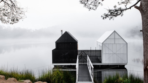 Ideally-suited to Tasmania's fresh weather, a sauna master will guide guests through the experience.