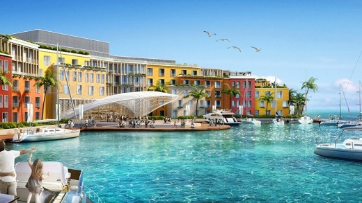 The Portofino hotel: Bringing a slice of Italian charm to the Arabian Gulf.