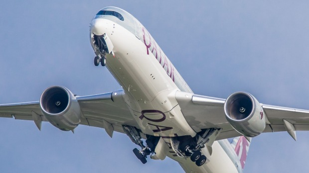 Qatar Airways flew close to 45 per cent of all international travellers to and from Australia in April.