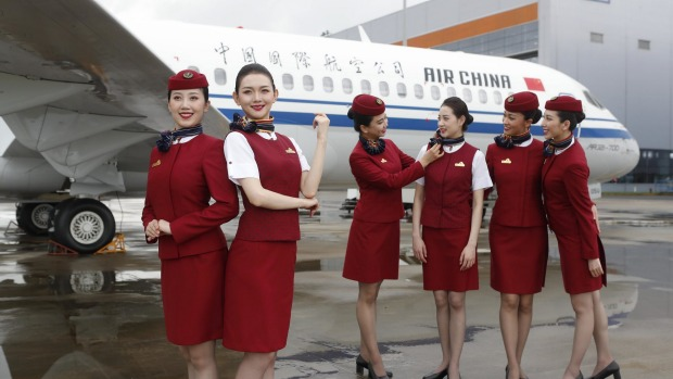Air China is one of China's three biggest airlines that took delivery of the ARJ21 this week.