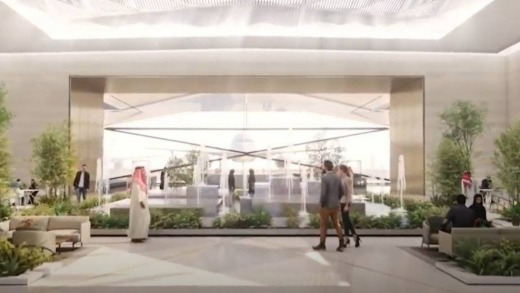The airport is scheduled to open in 2023.